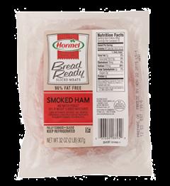 HAM- Sliced Bread Ready Smoked Ham Hormel 2lbs