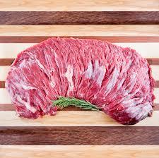 BEEF- Peeled Outside Skirt Steak Organic Grass Fed $11.25/lb (10lbs Average)
