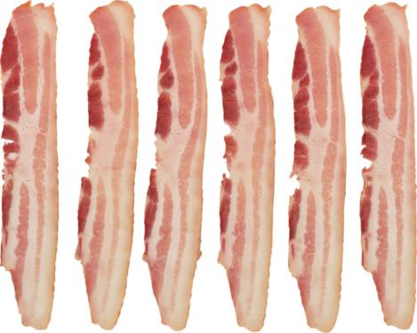 BACON- Kruse 18/22 Slice Bacon 25 lbs