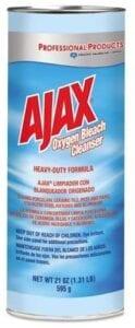 AJAX- Powder Cleaner Oxygen Bleach 21oz