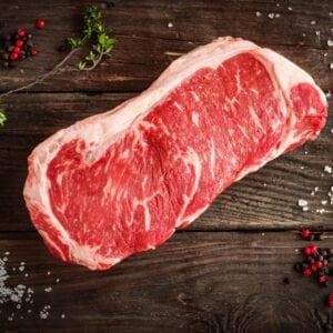 STEAK- New York Strip Steak 8oz Choice