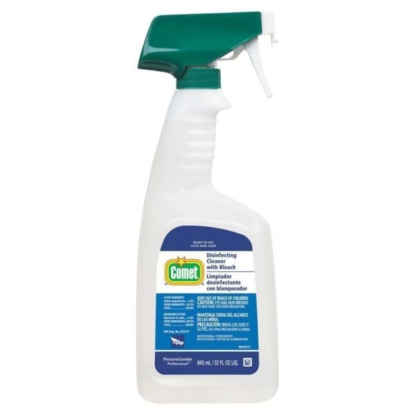 COMET- Disinfecting Cleaner With Bleach Spray Bottle W/Trigger 32oz