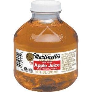 APPLEJUICE- Gold Medal Martinelli's plastic bottles 24/10 oz
